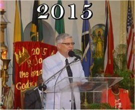 Foursquare Leadership  visits Mount Zion's Missions in 2015