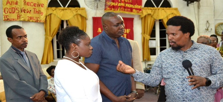 Mount Zion's Missions Inc Barbados Foursquare Church Convension 2017