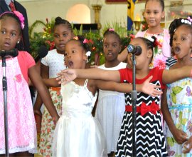 Mount Zion's Missions Christmas 2015