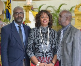 Rev. Dr. Lucille Baird family at Mount Zion's Mission