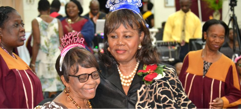 Mount Zion's Missions Inc Barbados Foursquare Church Old Years Night Celebrations