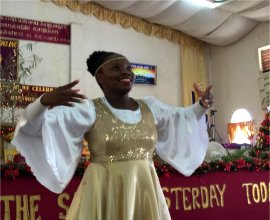 Children's Christmas Programme Dance Ministry