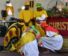 Mount Zion's Missions Children's Christmas Programme Dramatization