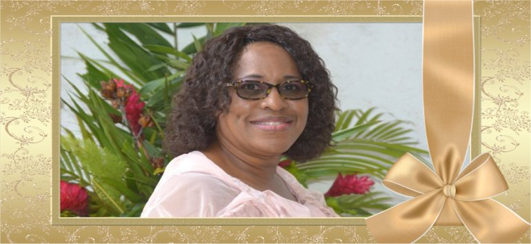 Apostle Lucille Baird and Mount Zion's Missions Inc Barbados Foursquare Church honours Dr. Angela Smith Prinicpal of Gorden Greenidge School