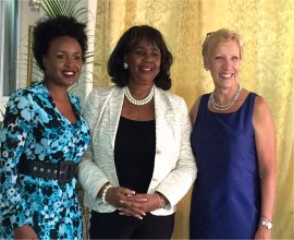 John Maxwell seminar guest speaker Diana Kenoly hosted by Mount Zion's Missions Inc Barbados Foursquare Church