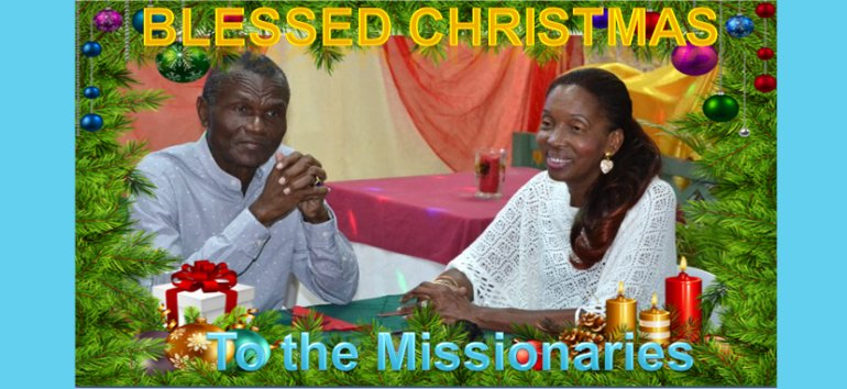 Mount Zion's Missions Inc Barbados Foursquare Church December 25th Christmas Tributes  2020