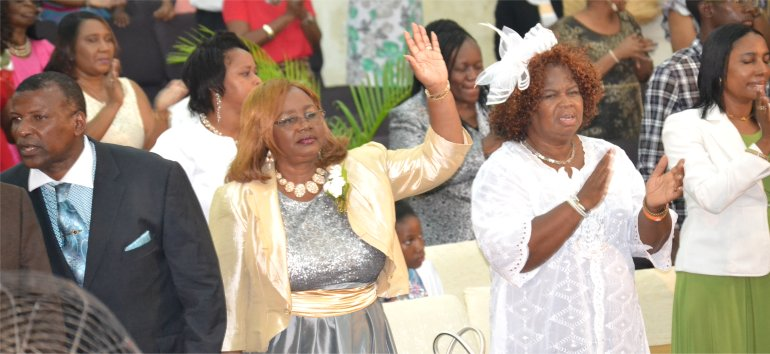 Appreciation Service 2017 for Apostle Dr Lucille Baird C.E.O and Founder of Mount Zion's Missions Inc Barbados Foursquare Church