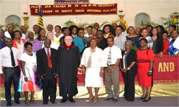 Mount Zion's Missions Inc Barbados Foursquare Church about our leaders