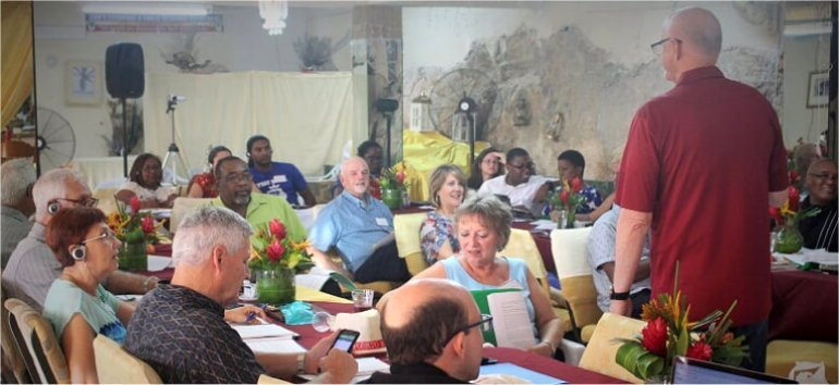 Mount Zion's Missions Inc Barbados Foursquare Church hosts Foursquare Regional Training day 2