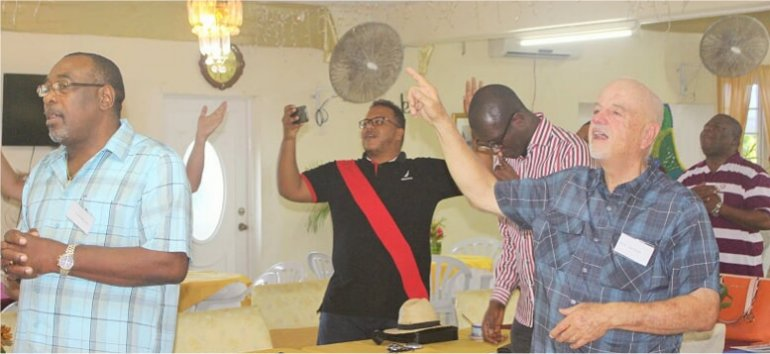 Mount Zion's Missions Inc Barbados Foursquare Church hosts Foursquare Regional Training day 3