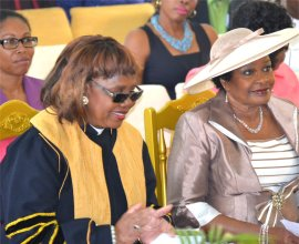 MZM Celebrates the Governor General Apostle Dr. Lucille Baird honours Madame Justice Dame Sandra Mason Governor General of Barbados