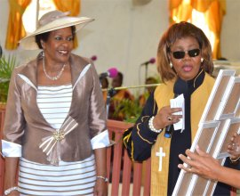 Rev. Dr. Lucille Baird and Mount Zions Missions honours women of Barbados