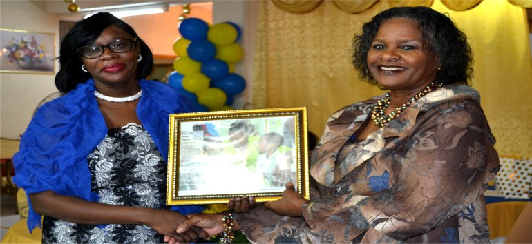 Mount Zion's Missions Inc Barbados Foursquare Church Governor General visits in 2017