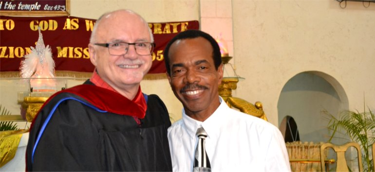 Rev. Elvis Goodman Pastor at Mount Zion's Missions International Inc