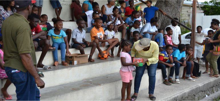 Mount Zion's Missions Inc Barbados Foursquare Church New Orleans Impact Community Outreach 2019