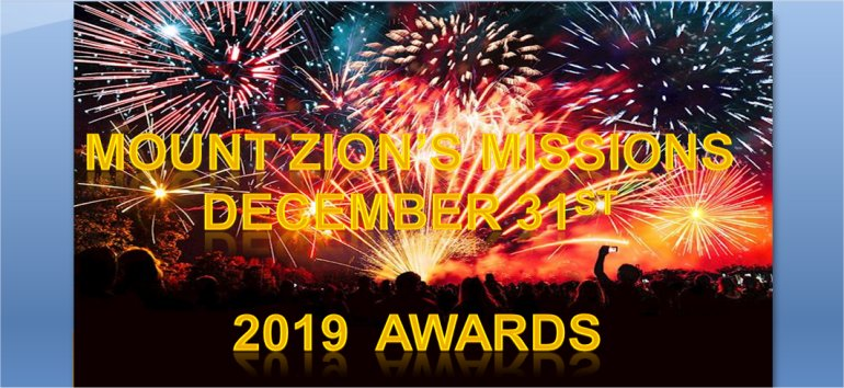 Mount Zion's Missions Inc Barbados Foursquare Church December 31st Old Years night service 2019