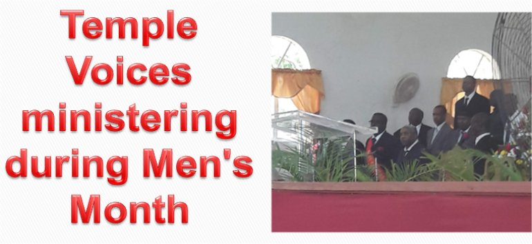 Mount Zion's Missions Inc Barbados Foursquare Church Mens month 2019