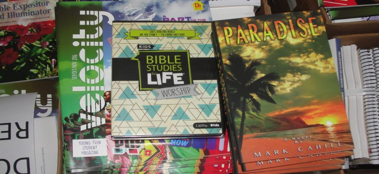 Love Packages for the churches of Dominica following Maria devestation from Eagles Nest Ministries