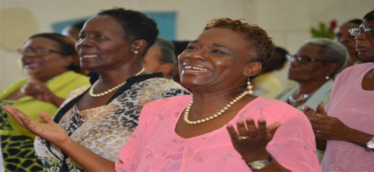 Rev. Gail Price Pastor at Mount Zion's Missions Inc Barbados Foursquare Church