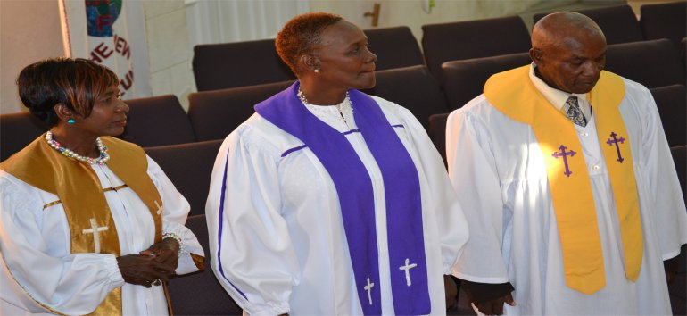 Rev. Eudine Medford is Pastor at Mount Zion's Missions International Inc